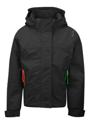 Waterproof & Breathable Jacket By Kozi Kidz in Black