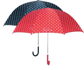 Playshoes Spotty Umbrellas to match coat