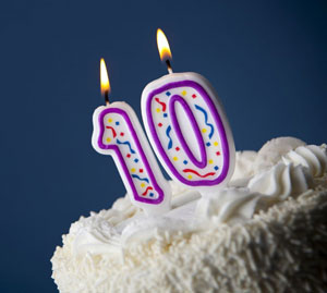 Happy 10th Birthday To Us!!!