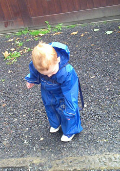 a trip out for puddle jumping
