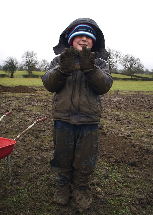 Finlay - VERY muddy in Ocean!