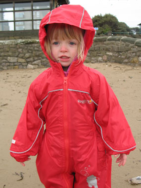 Millie in Regatta Puddle Suit