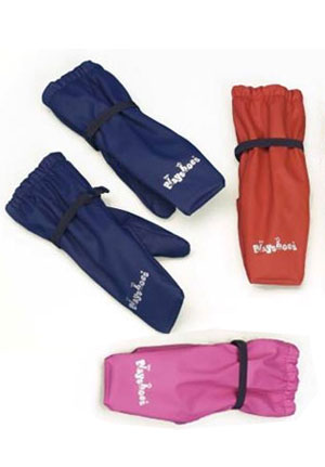 Playshoes waterproof PU fleece lined mittens