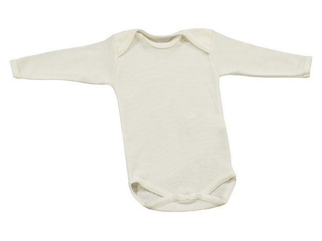 CelaVi Merino Wool Baby Body Suit