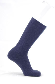 Navy Tube Socks