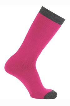 Pink Tube Socks