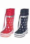 Playshoes Spotty Wellies